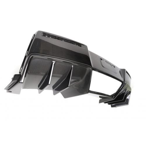 APR Performance - Chevrolet Corvette C7 Z06 Rear Diffuser 2014-Up Without Under-Tray Version 2