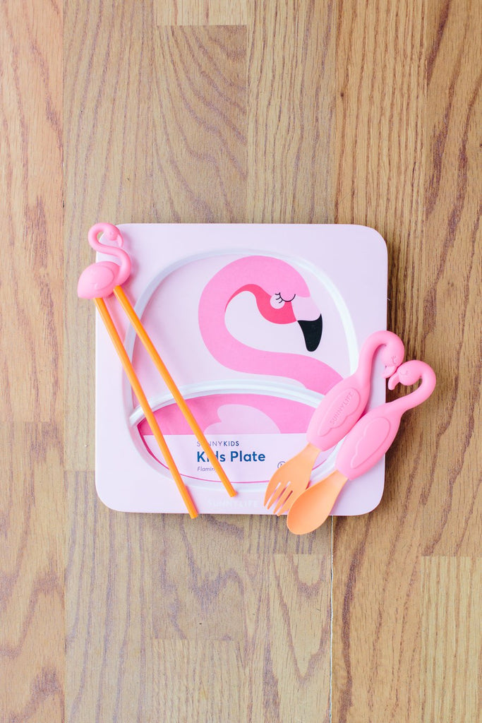 Flamingo Spoon & Fork Set