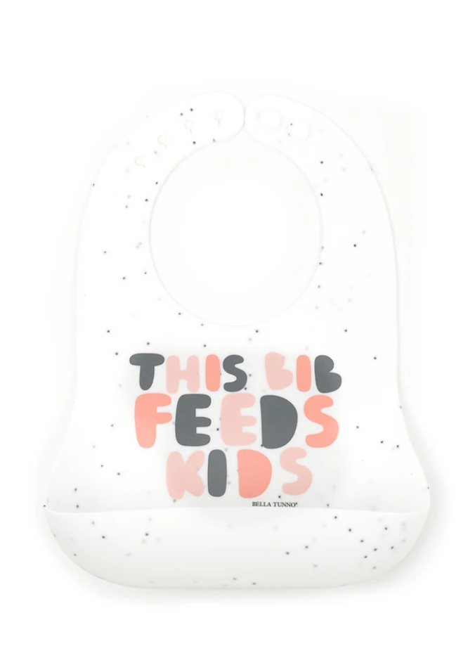 This Bib Feeds Kids- Pink - Pineapple Sunshine™