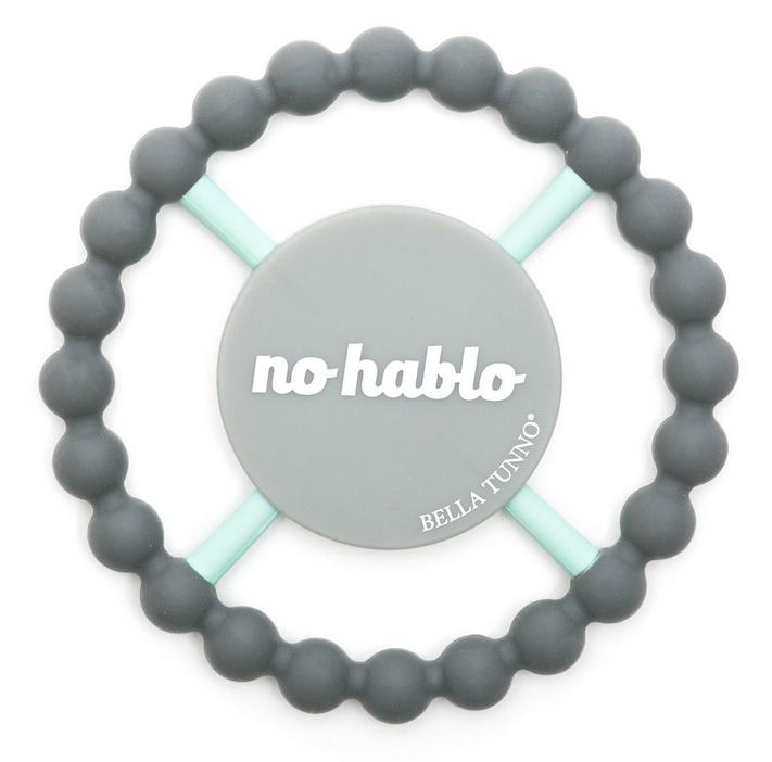 'No Hablo' Teething Ring - Pineapple Sunshine™