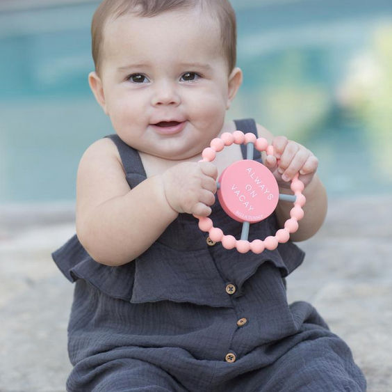 'Always On Vacay' Happy Teether - Pineapple Sunshine™