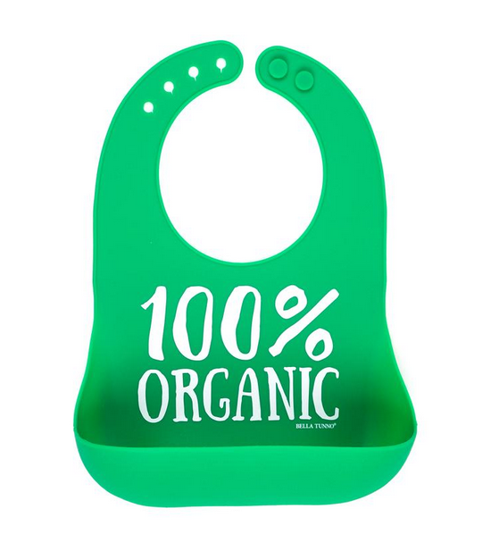 100% Organic Wonder Bib - Pineapple Sunshine™