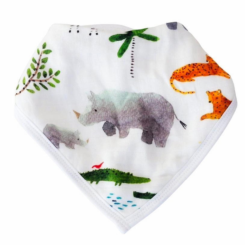 Bandana Bib Set- Safari Jungle - Pineapple Sunshine™