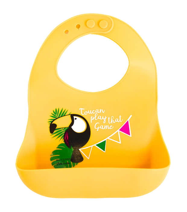 Exclusive! Toucan Play That Game Catch Bib 1