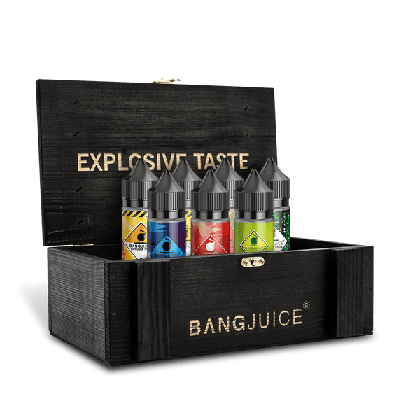 BangJuice® Holzbox Lasered