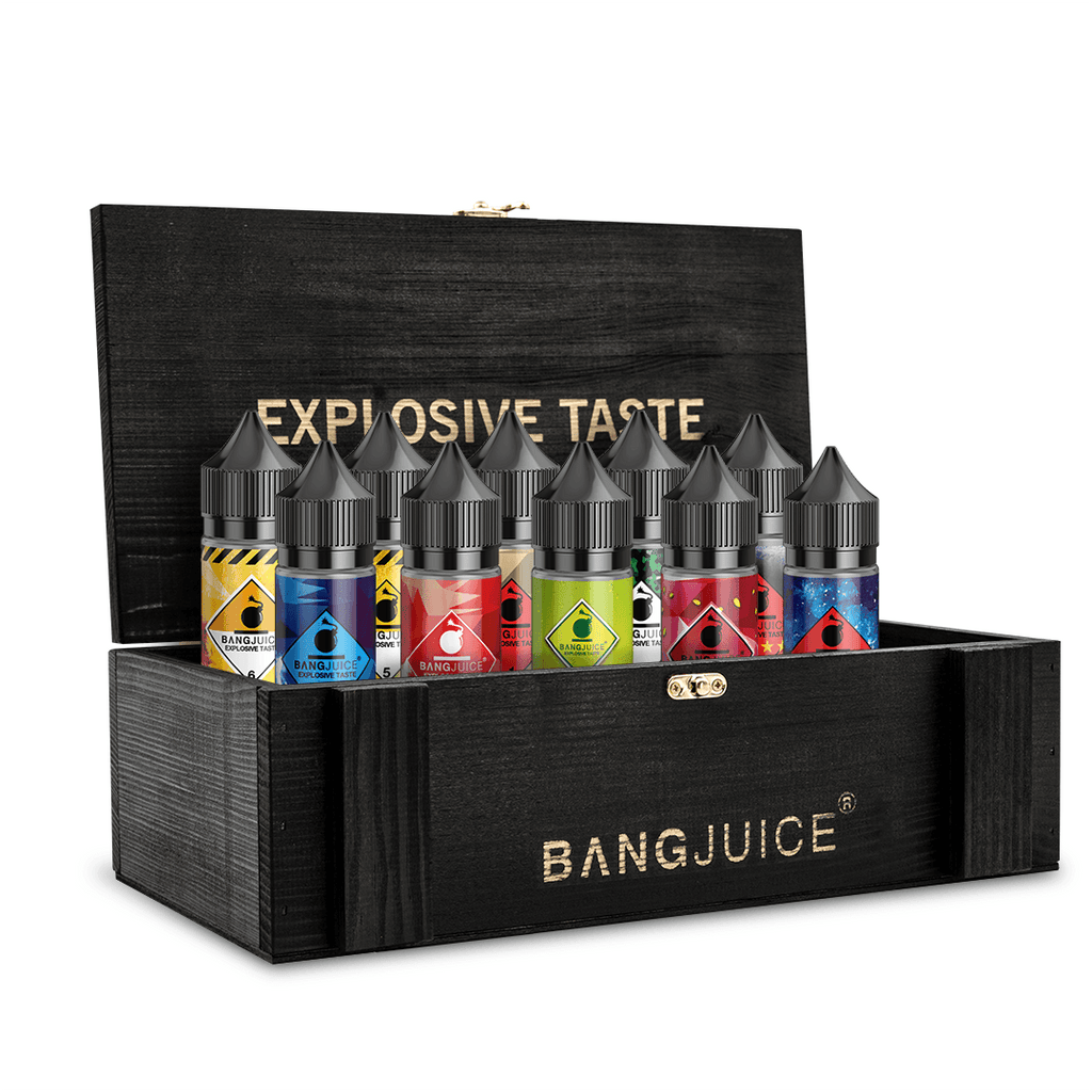 BangJuice® Big Holzbox Lasered