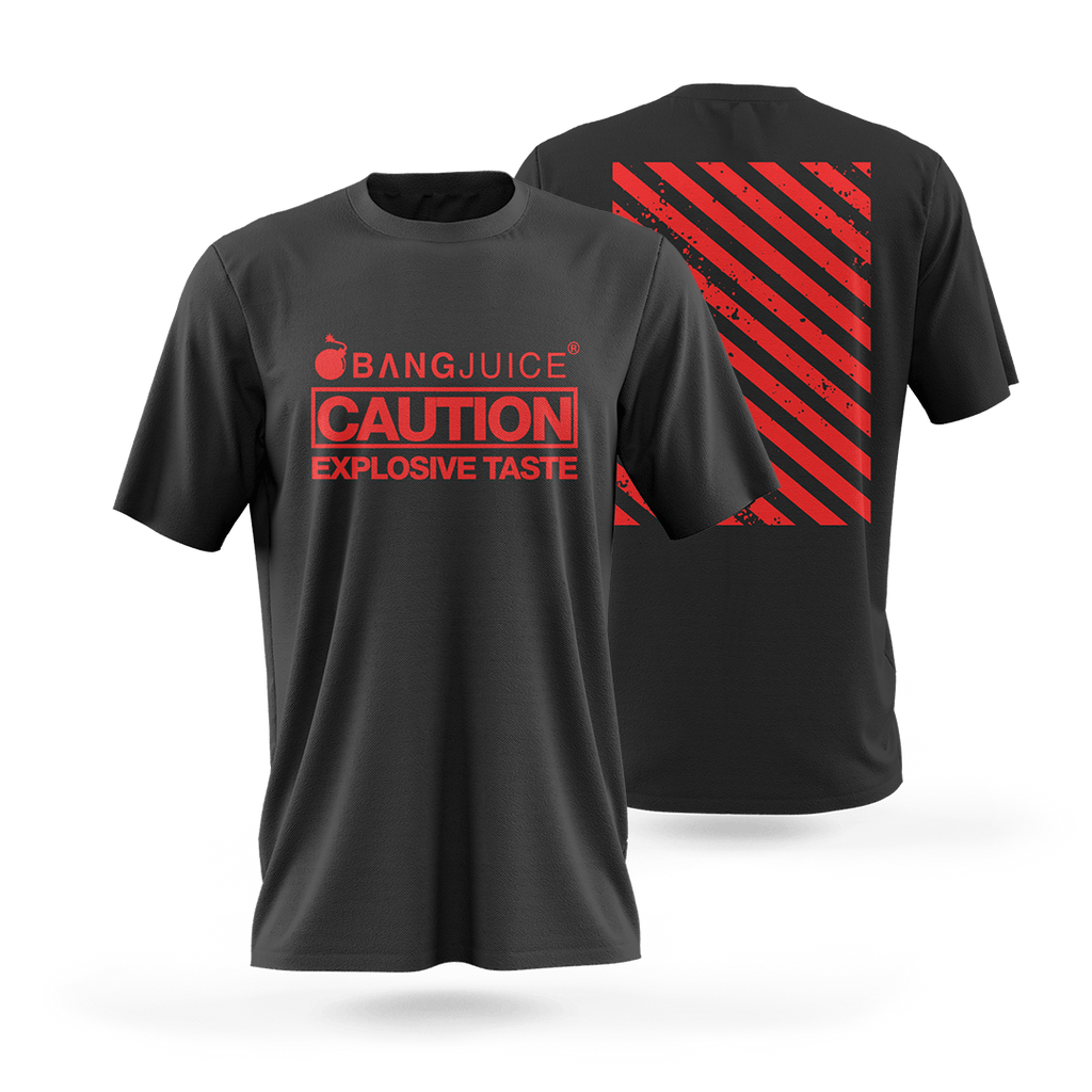 BangJuice® Red Caution Stripes Shirt
