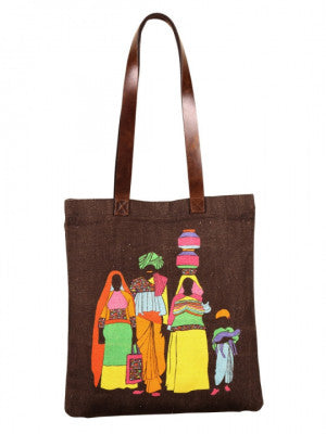 Parivar City Tote Bag - casa-suarez-panama