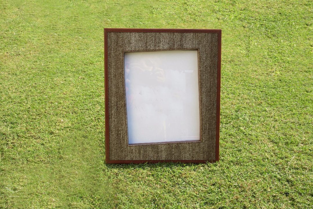 Flourish Leather Photo Frame - casa-suarez-panama