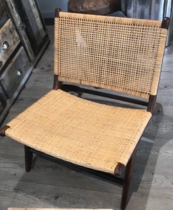 London lazy chair rattan seat - casa-suarez-panama