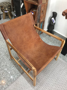 Armchair Full Size Leather Seat - casa-suarez-panama