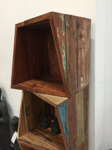 Bookcase With Multiple Small Racks - casa-suarez-panama