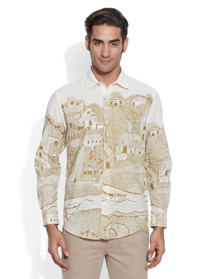 Rainforest Men's Shirt - casa-suarez-panama