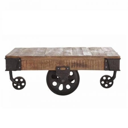 Industrial Coffee Table - casa-suarez-panama