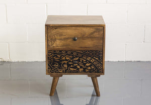 Boho Printed Side Table - casa-suarez-panama