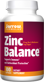 A Bottle of Zinc Balance