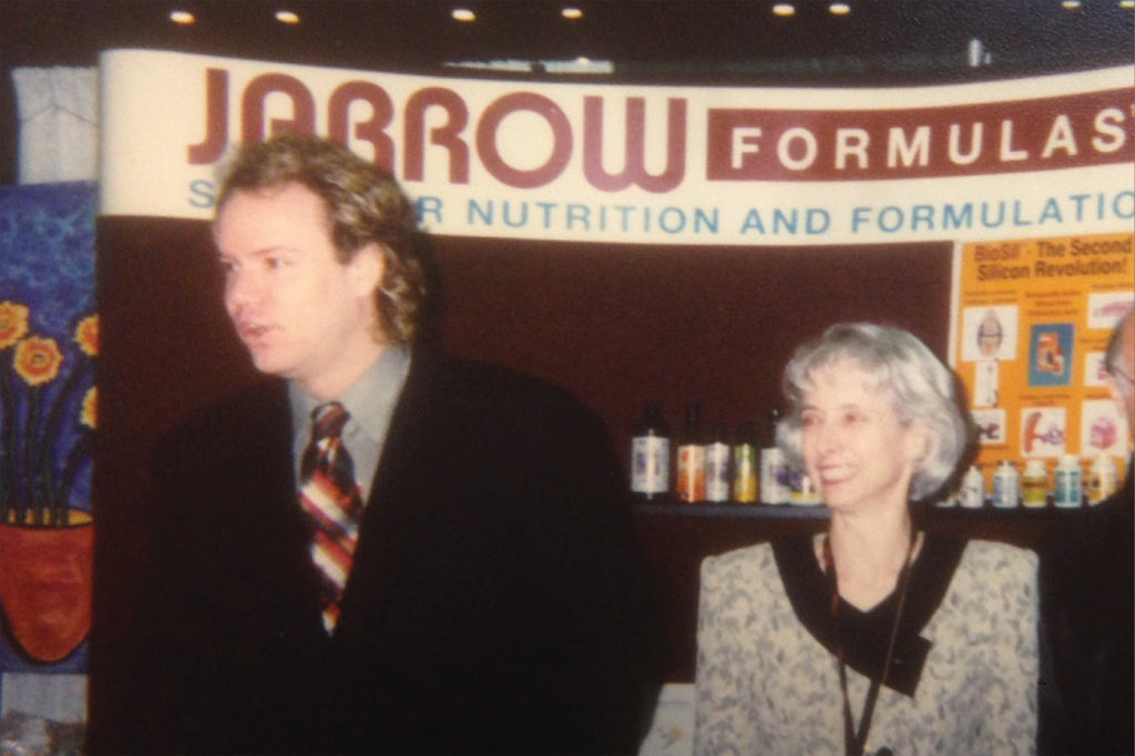 Vice President of Sales Clayton DuBose during SOHO Expo trade show in 1996