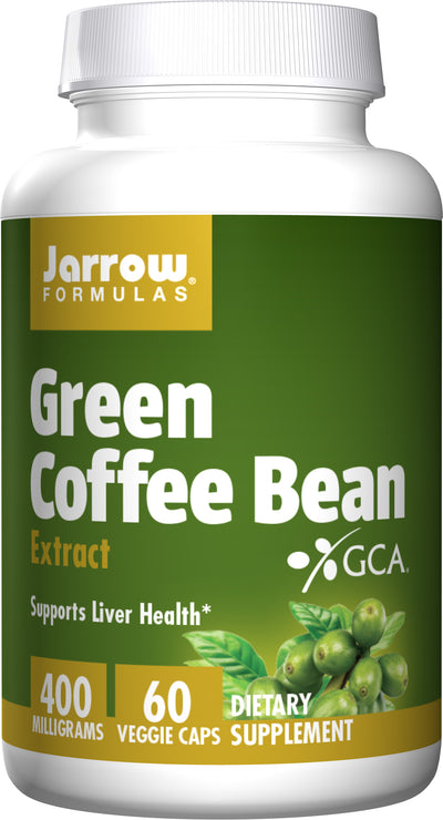 Green Coffee Bean Extract      	           - 60 Veggie Caps                            	         - 400 mg Per Serving