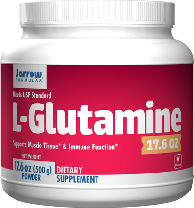 L-Glutamine      	           - 17.6 oz (500 g) Powder