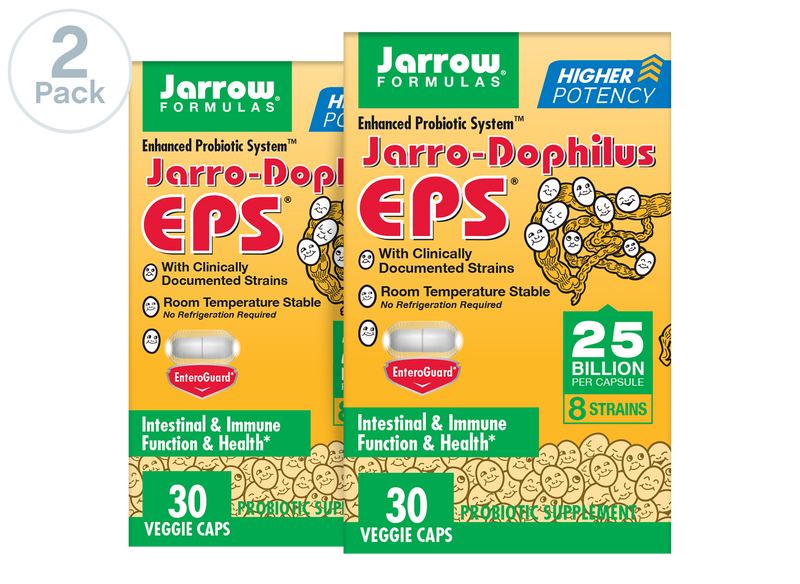 Photo of Jarro-Dophilus EPS® Higher Potency product from Jarrow Formulas