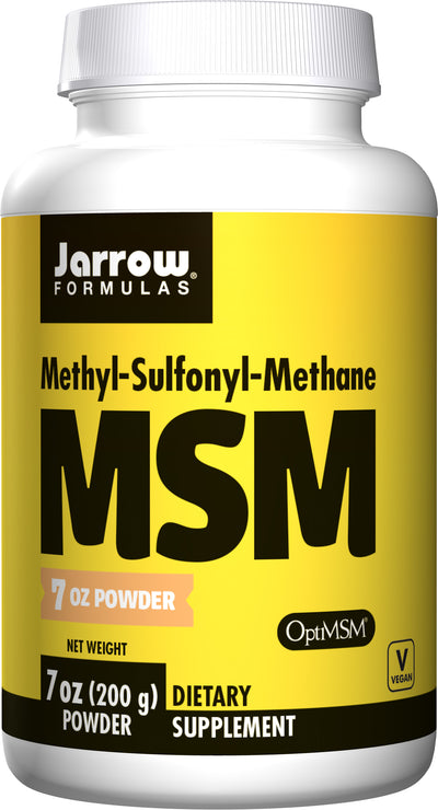 MSM      	           - 7 oz (200 g) Powder
