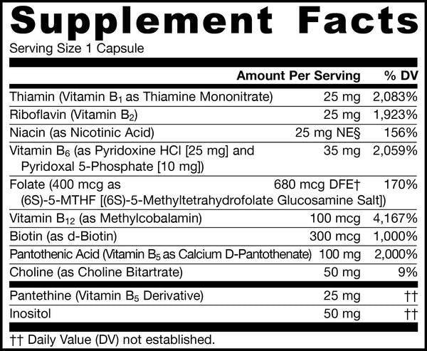 B-Right® Supplement Facts