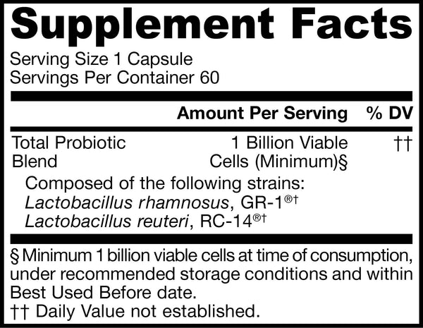Fem-Dophilus®Supplement Facts