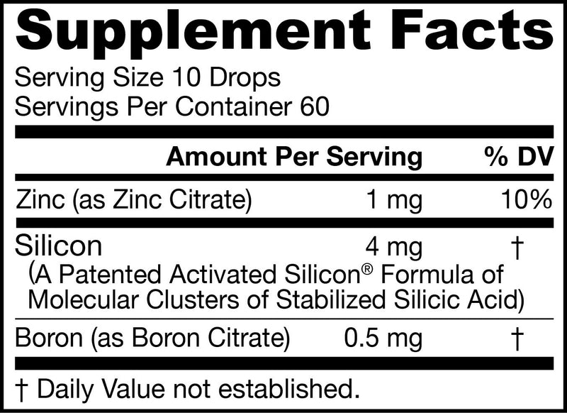 JarroSil® Supplement Facts