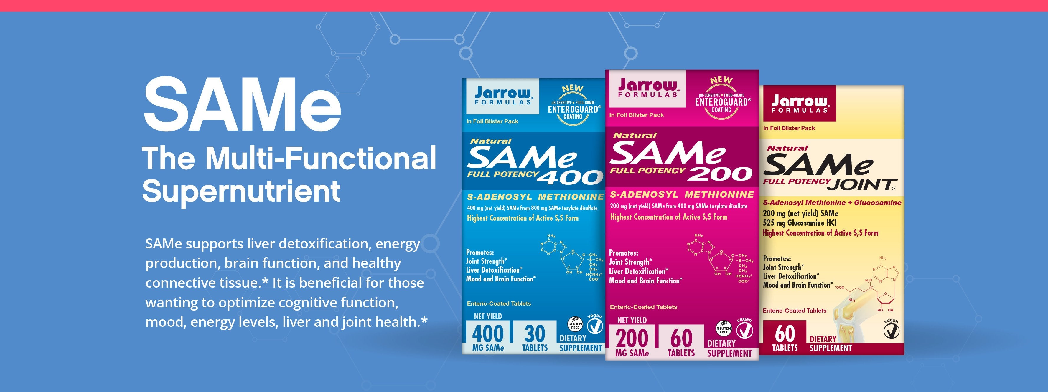 SAMe - The Multi-Functional Supernutrient