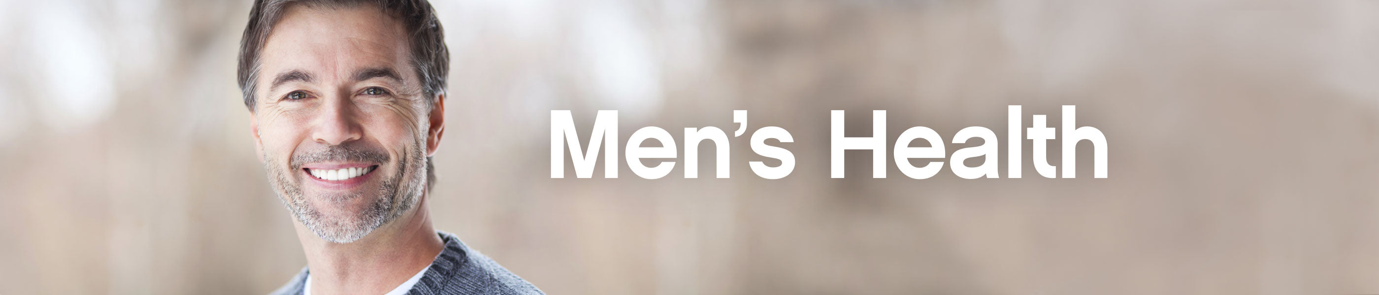 Men's Health header image