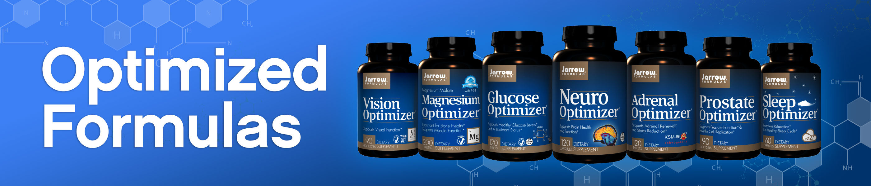 Optimized Formulations header image