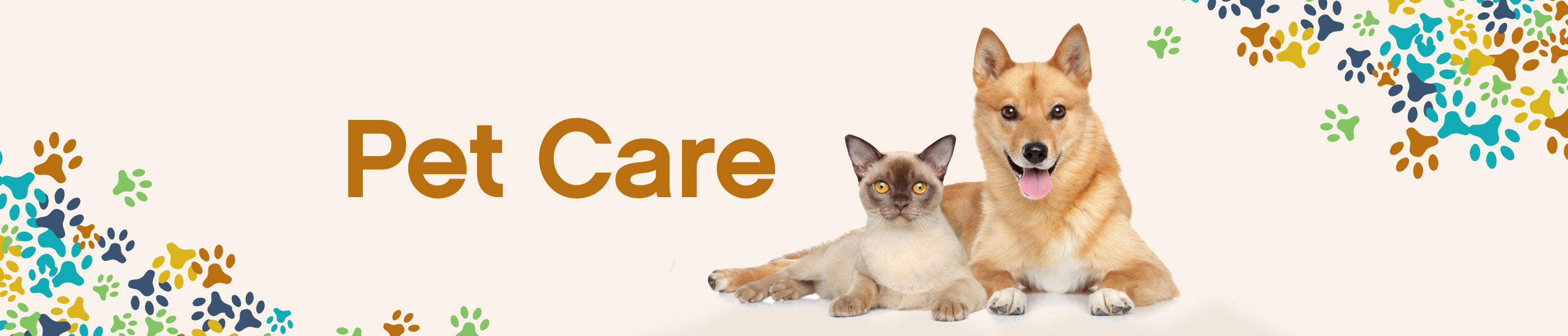 Pet Care header image