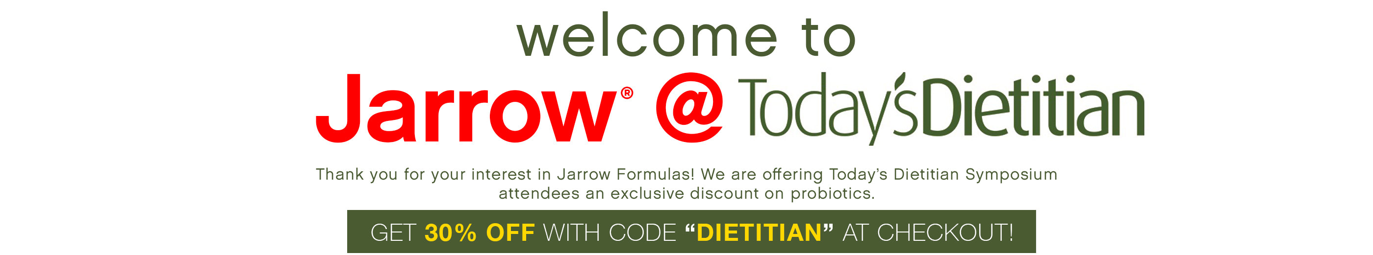 Today's Dietitian header image