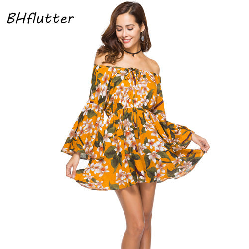 750c22ed0f3e BHflutter floral Summer Dress – PopJara