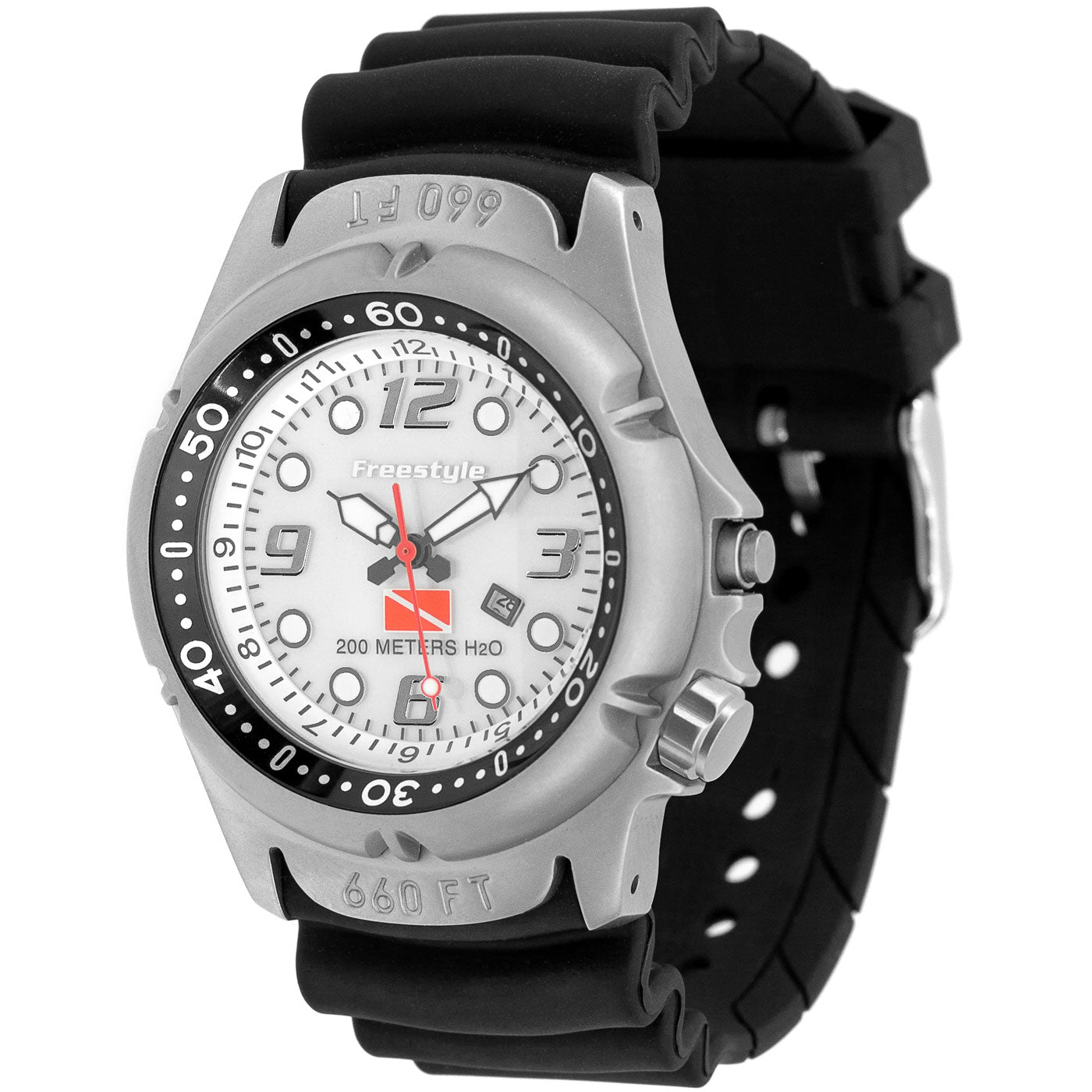 Freestyle Watches Hammerhead White Unisex Watch Manual Guide