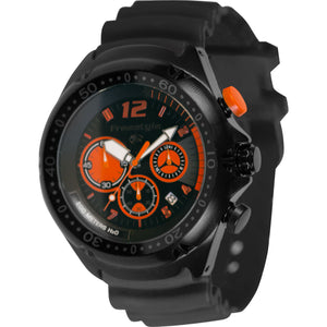 Freestyle Watches Hammerhead XL Black/Orange Unisex Watch 10026745B