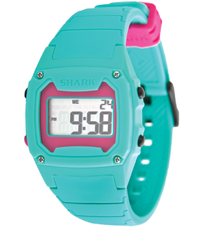 Shark Classic - Strap Kit - Silicone - TEAL/MAGENTA