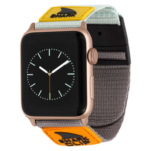 APPLE WATCH™ CLIP STRAP TURQ/BLK/MUS