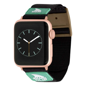 APPLE WATCH™ CLIP STRAP BLACK/MINT