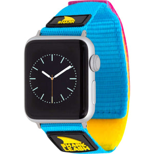 APPLE WATCH™ LEASH STRAP CYAN/YELLOW