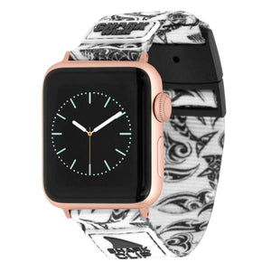 APPLE WATCH™ CLIP STRAP SHARK WEEK TRIBAL MONO