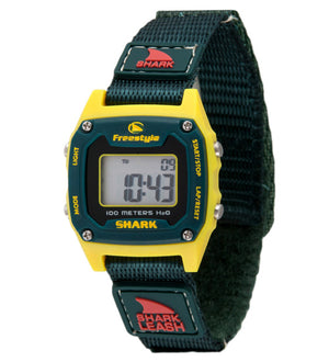 Freestyle Watches Shark Leash Mini Yellow/Dk Green Unisex Watch 10022924