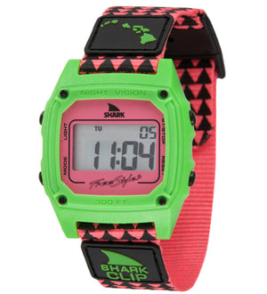Freestyle Watches Shark Clip Hawaii Pink/Green Unisex Watch 10022121