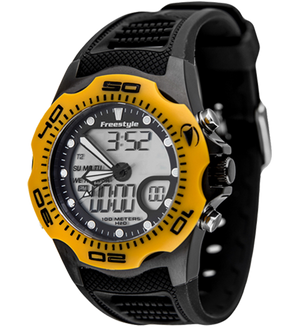 Freestyle Watches Shark X 2.0 Yellow/Black Unisex Watch 10016989