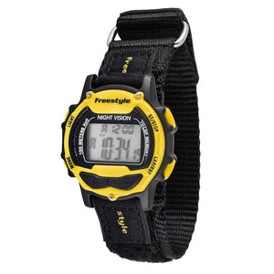 Freestyle Watches Predator Blk/Blk/Yel Unisex Watch 10006445