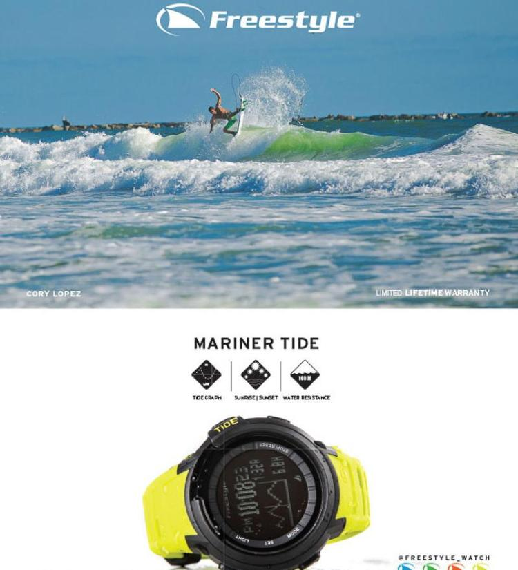 freestyle mariner tide watch manual