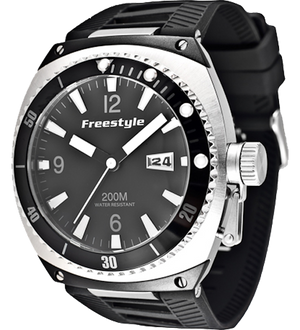 Freestyle Watches Trench Silver/Black Unisex Watch 10006412