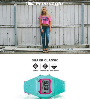 Freestyle Watches Shark Classic Pink Green Unisex Watch 10006448
