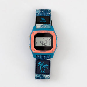 Freestyle Watches Luke Davis Signature Shark Classic Clip Blue Wave Unisex Watch FS101001