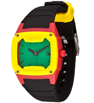 Freestyle Watches Shark Classic Analog Red/Grn/Blk Unisex Watch 10006631